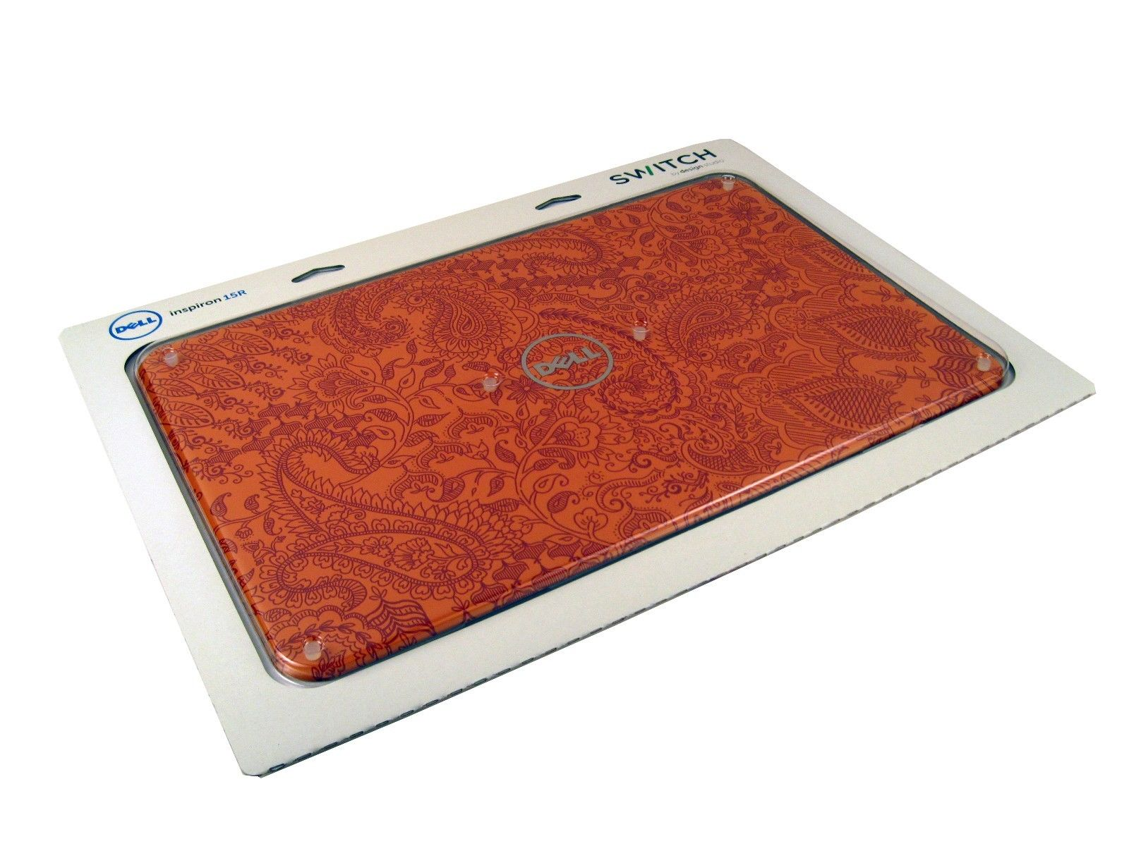 NEW Dell 6K7MP Inspiron N5110 Laptop LCD Cover (Mehndi Design)