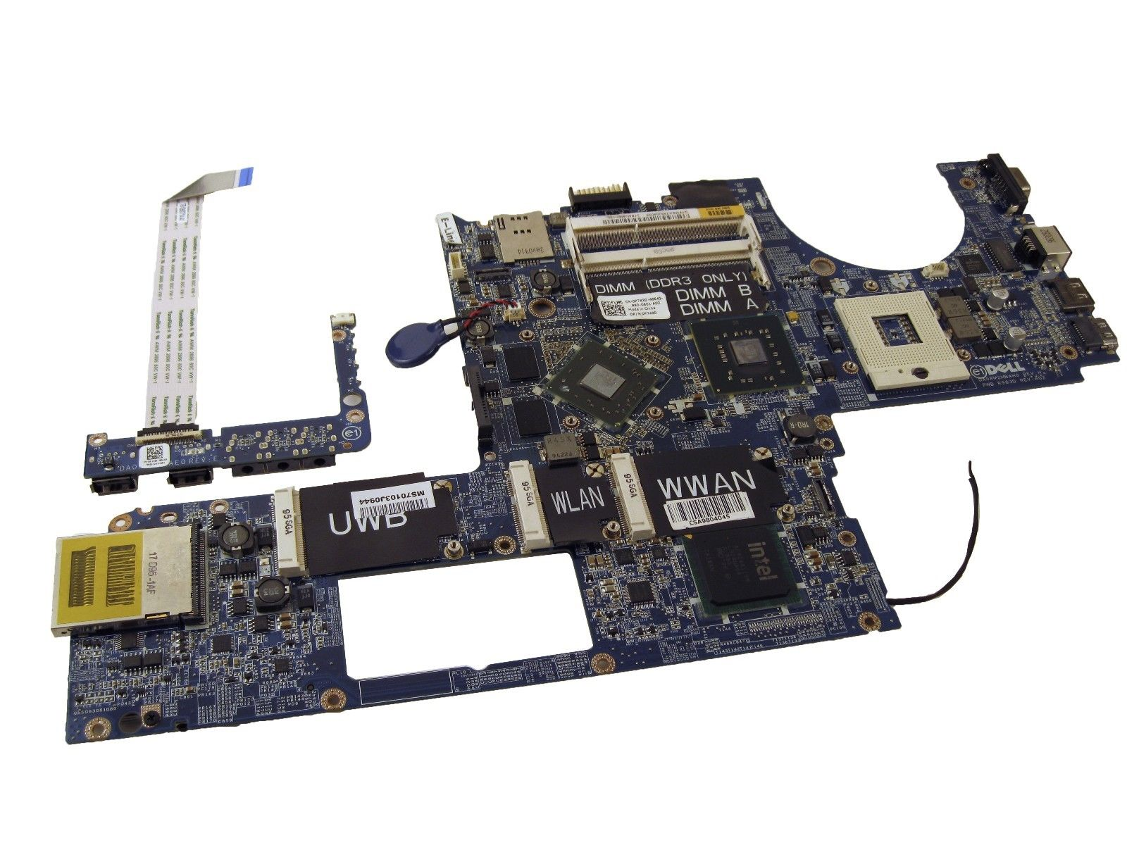 Dell P743D System Board XPS 1640 Intel Motherboard