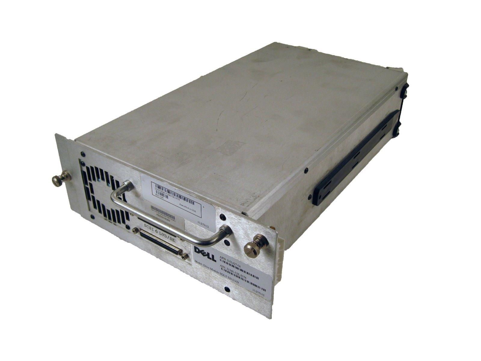 CD260 PowerVault 136T SDLT 320 SCSI LVD Loader Drive
