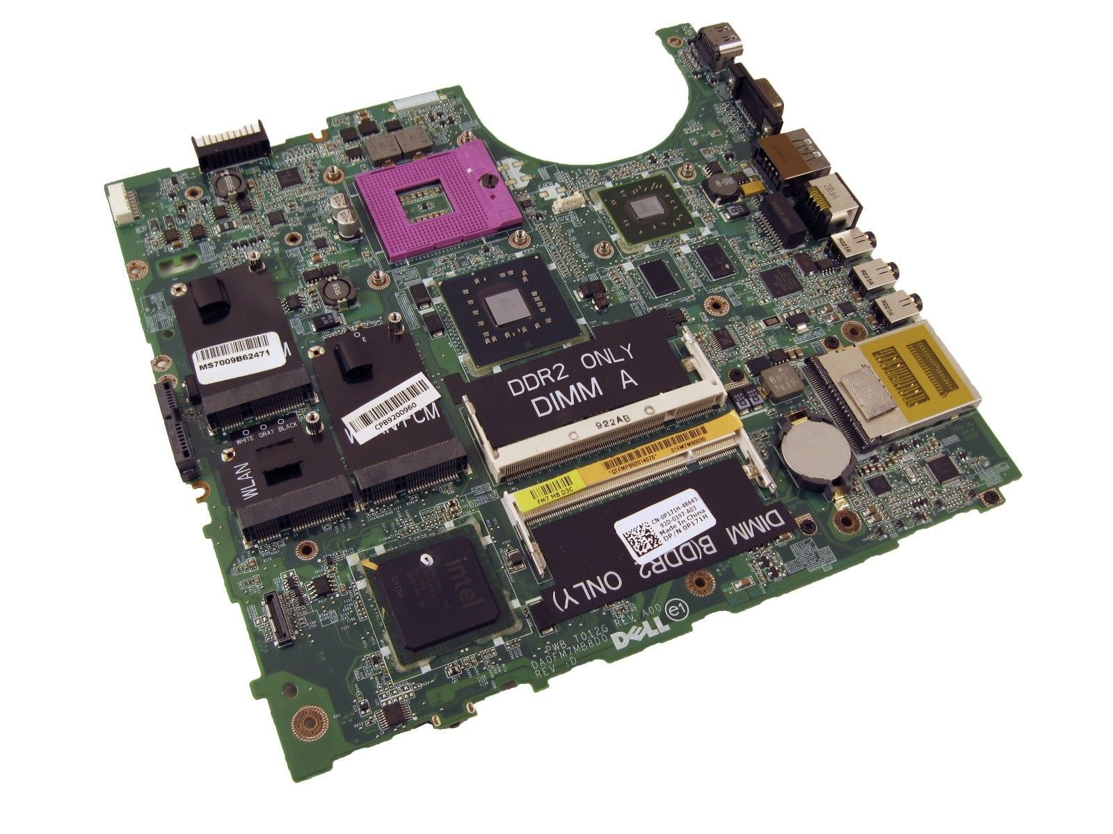 Dell P171H Studio 1537 Laptop Motherboard