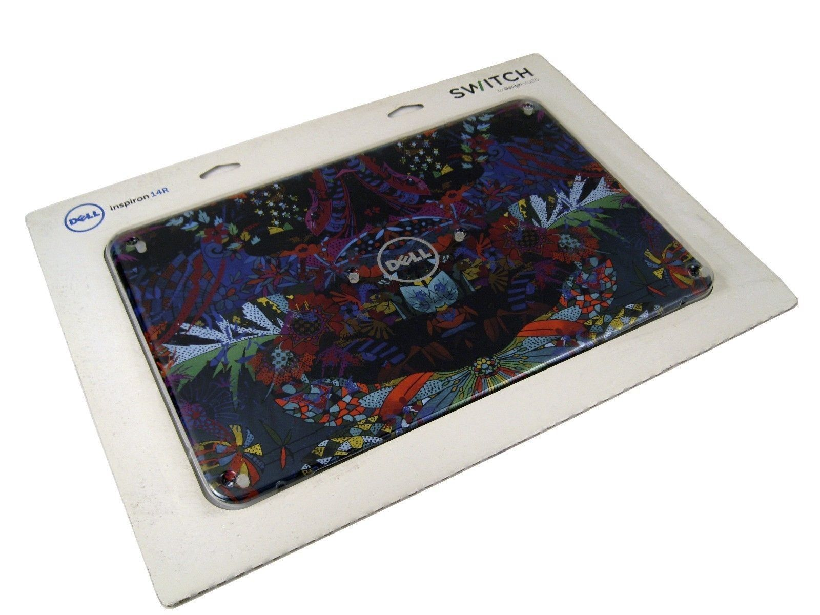 """Dell X4YP5 Inspiron 14R N4110 14"""" Switchable LCD Back Cover Kaleidoscope Design"""
