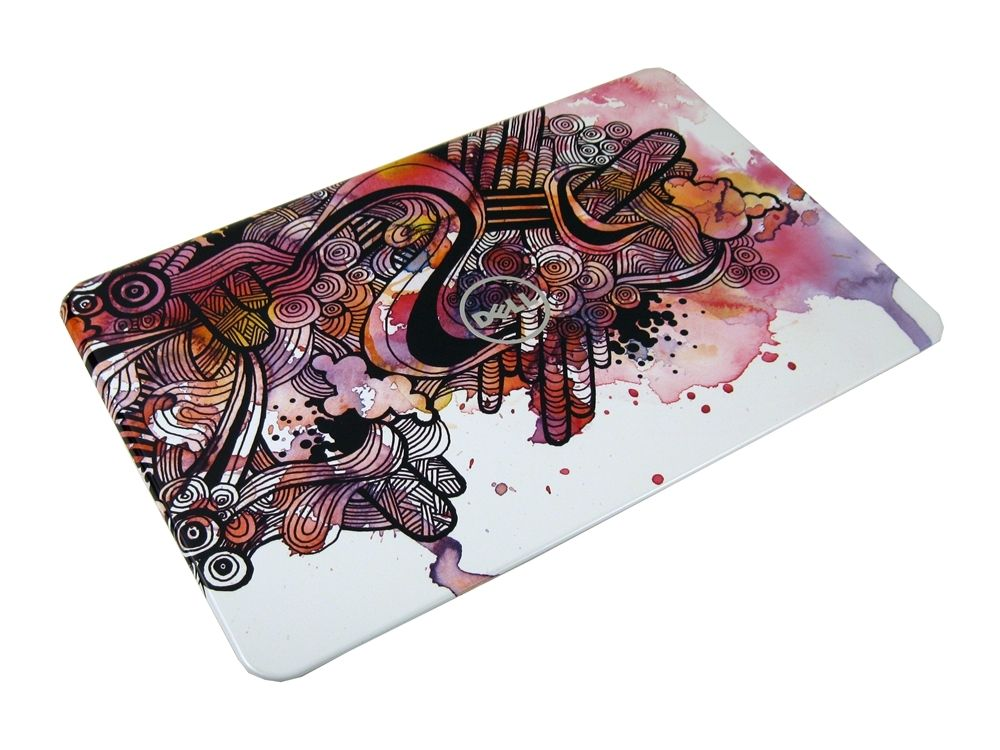 "NEW Dell 266D8 Inspiron 14R N4110 14"" Switch LCD Back Cover (Watercolor Design)"