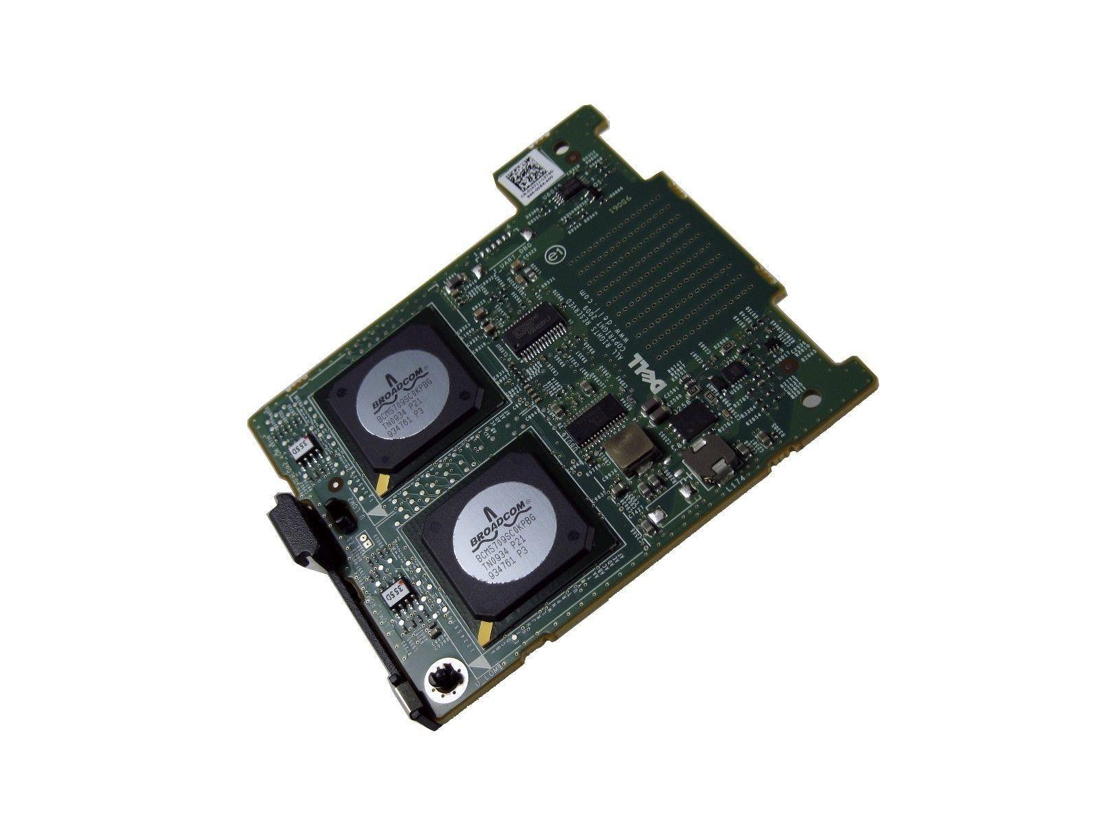 Dell J471J Broadcom 5709 Quad Port 10/100/1000 Base T 1Gbps Network Card