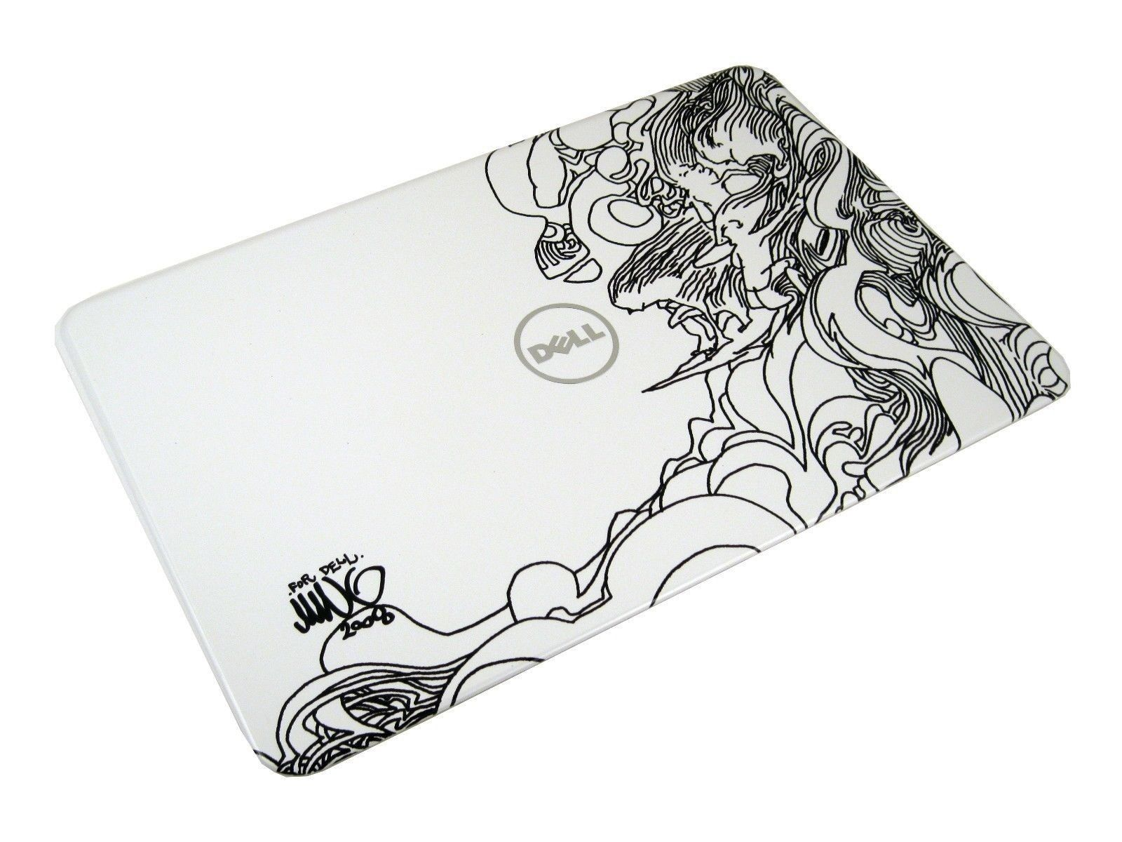 """Dell KC0MR Inspiron 14R N4110 14"""" Switchable LCD Back Cover (Surfer Design)"""