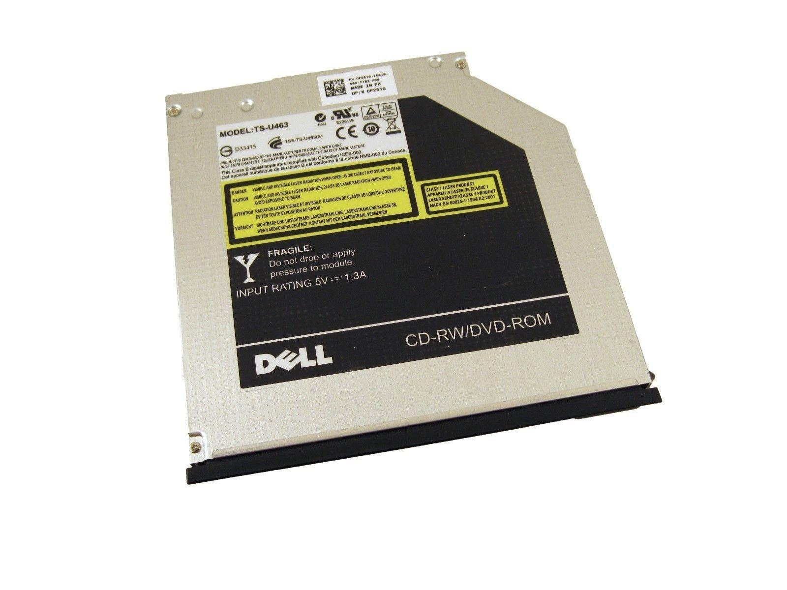 Dell P251G Latitude E6400 E6500 E4300 SATA DVD CDRW Combo Drive