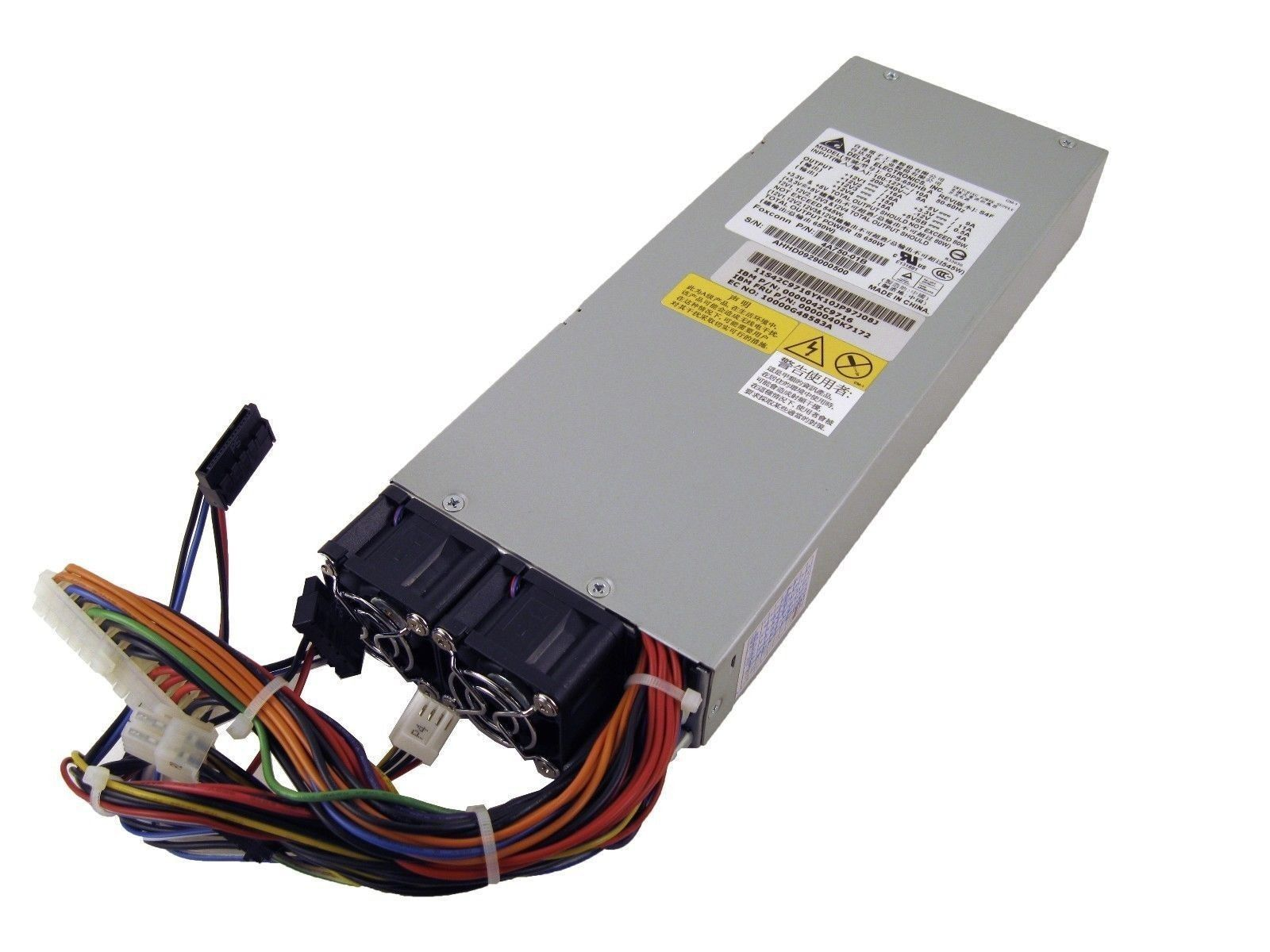 IBM 40K7172 Lenovo Power Supply 650W 42C9716 FRU DPS-650HB S4F 4A750-01B