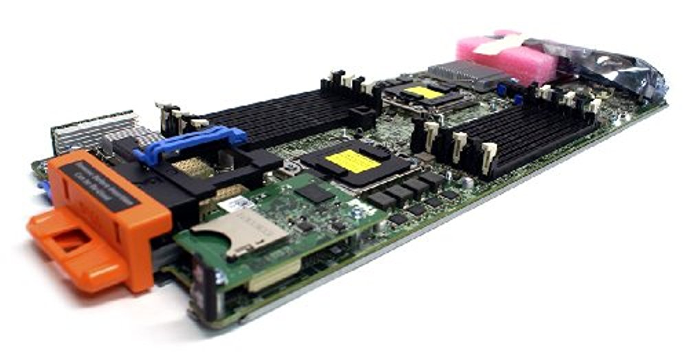 Genuine Dell 2Y41P N582M PowerEdge M610 Series Server Intel 5520 DDR3 DIMM Quad Core Six Core System Main Logic Board Motherboard Compatible Part Numbers: 2Y41P, N582M, CN-02Y41P, CN-0N582M