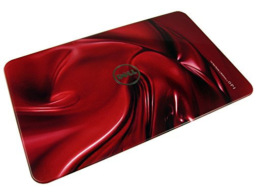 "36XWV Dell Inspiron 15R (N5110) 15.6"" Design Studio Switchable LCD Back Cover (Red Swirl Design)"