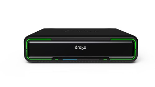 Drobo mini: Direct Attached Storage - 4 bay array - USB3 and Thunderbolt ports - Designed for portability. (DR-MINI-1A21)