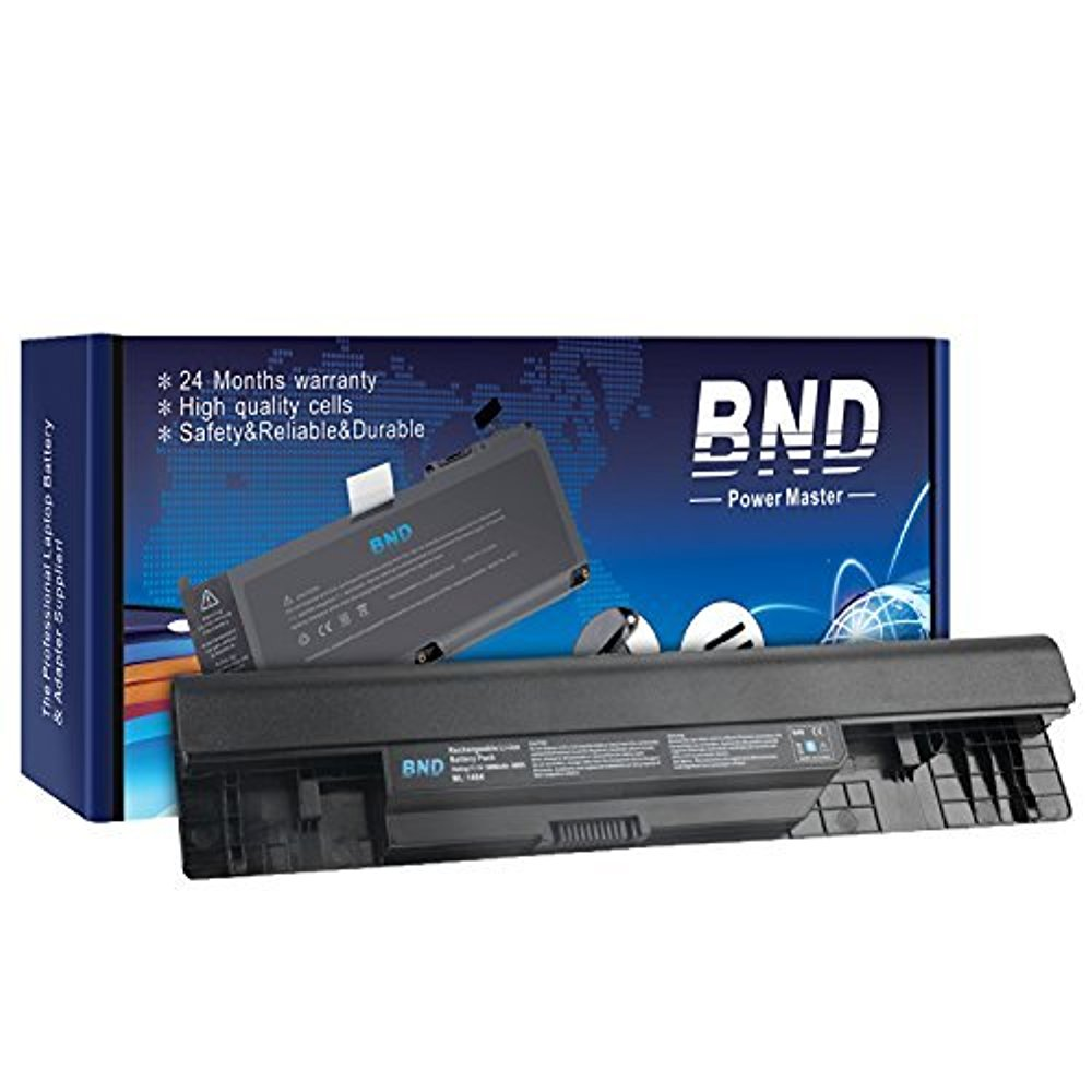 BND Laptop Battery [with Samsung Cells] for Dell Inspiron 14 1464 1464D 1464R / 15 1564 1564D 1564R / 17 1764, fits P/N NKVC5 312-1021 0FH4HR NKDWV K456N - 24 Months Warranty [6-Cell 5200mAh/58Wh]