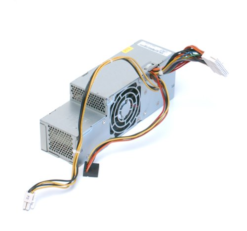 Genuine Dell K8964 275 Watt Power Supply For Dimension 5100C, 5150C, XPS 200, Optiplex GX620 Small Form Factor (SFF), Identical Dell Part Numbers: K8964, TD570, YD080, N8373, WD861