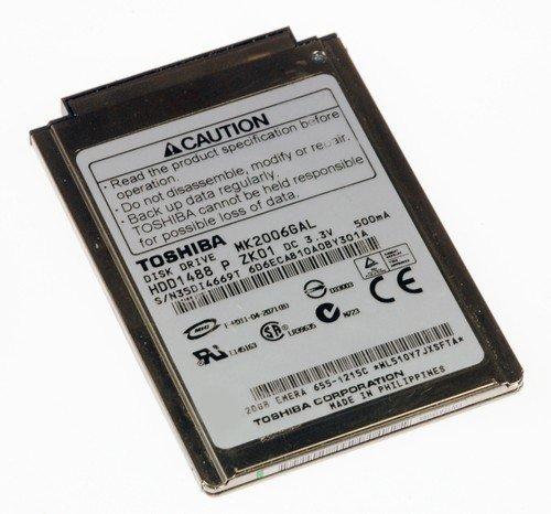 Toshiba MK2006GAL 20GB Hard Drive