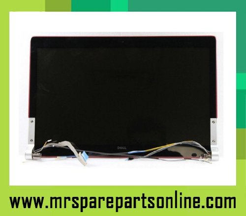 Dell LCD Assy RED Complete W Hinge / Cover, N117H (Complete W Hinge / Cover)