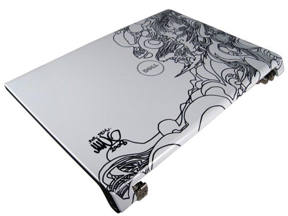 NEW N281C Dell Studio 1735 1737 1738 LCD Lid Top Cover + Hinges (Custom Design - Surfers)