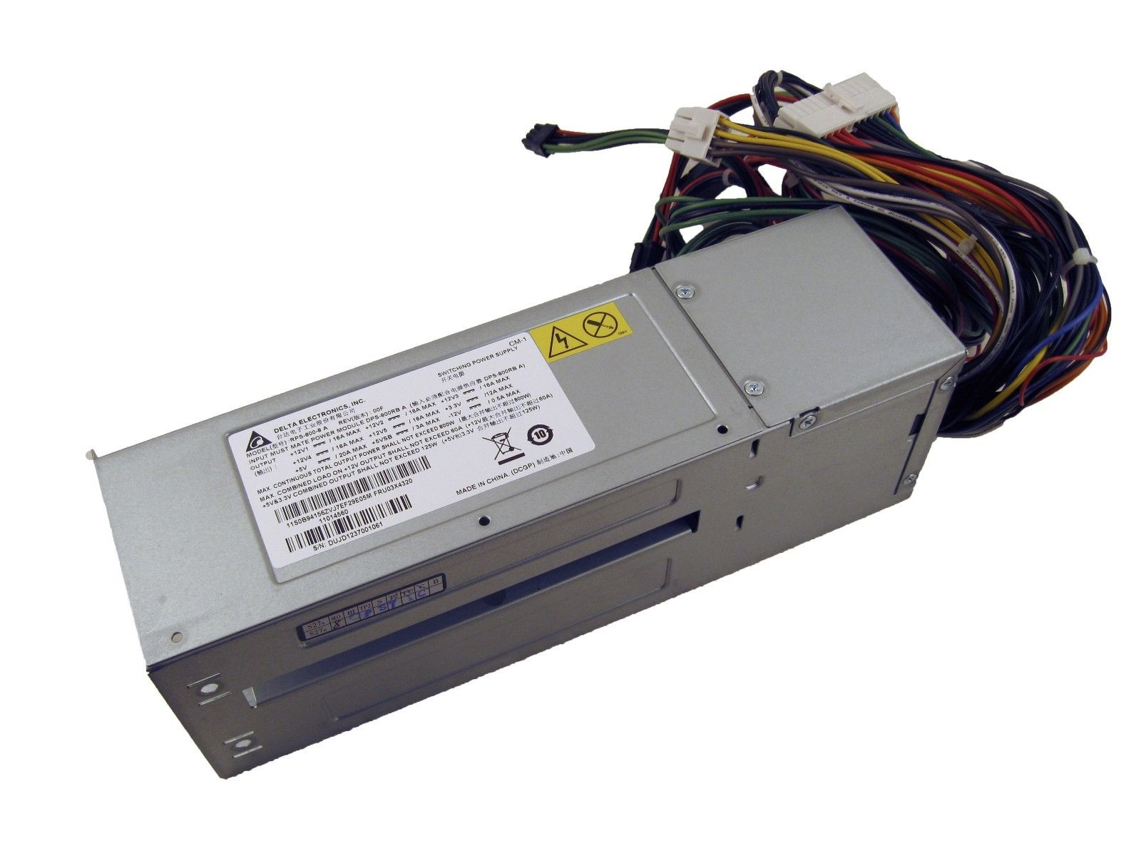 IBM 03X4320 Lenovo ThinkServer TD340 Empty Power Supply PSU Cage Chassis 800W