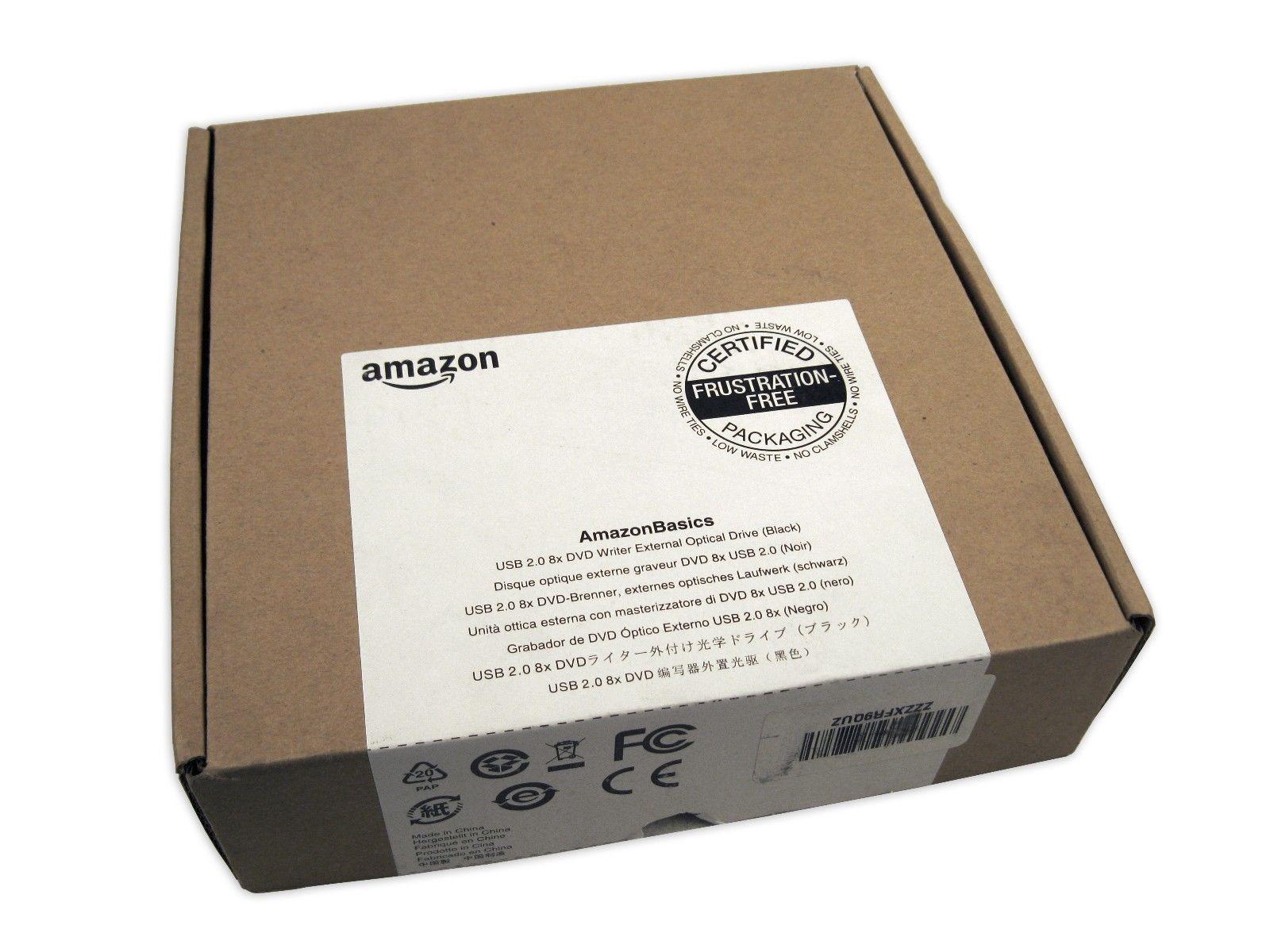 Amazon Basics External Optical USB 2.0