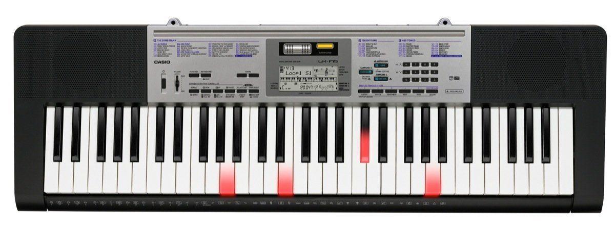 Casio LK-175 61-Key Portable Digital Piano Lighted Keys
