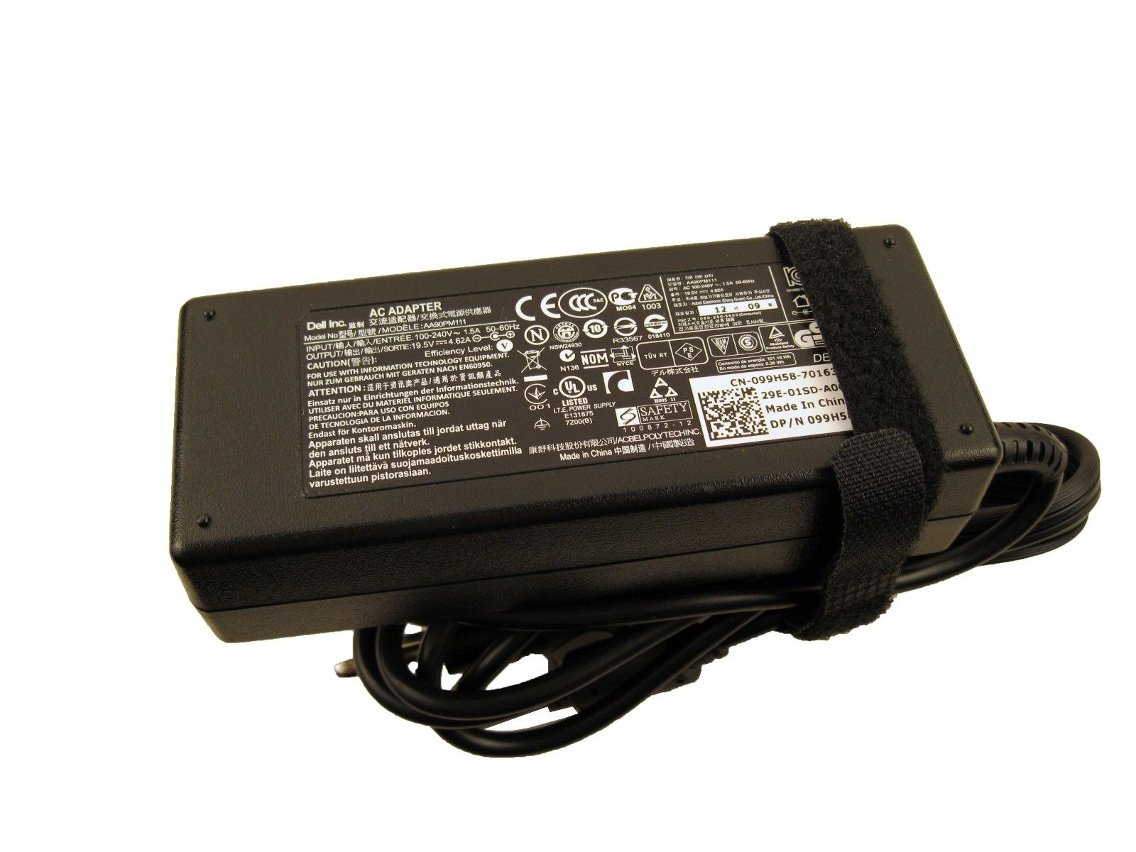 Genuine Dell 99H58 90W 19.5V AC Adapter Latitude E6430 AA90PM11