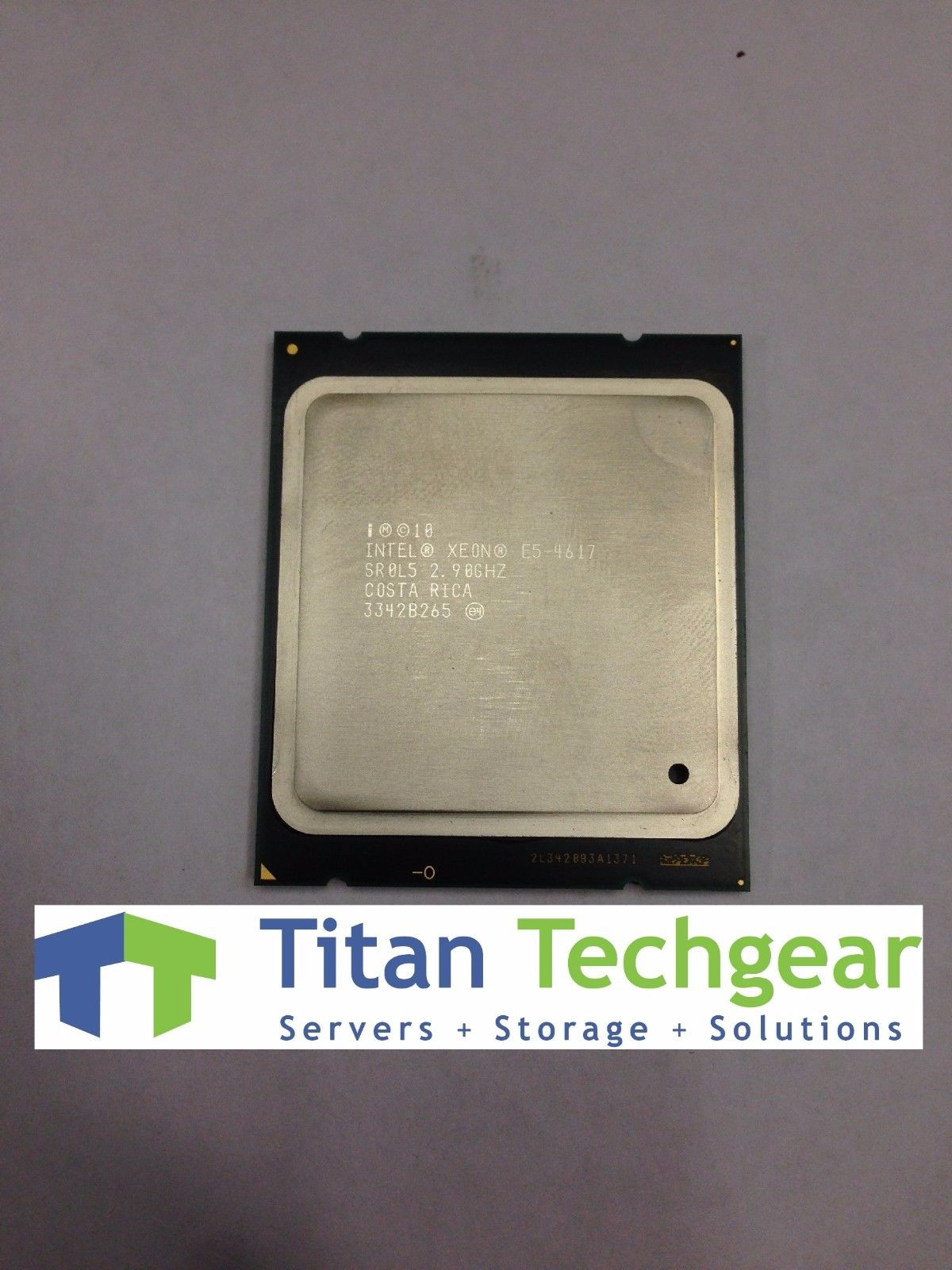 Intel SR0L5 Xeon E5-4617 2.9GHz 6 Core 15MB L3 LGA2011 SR0L5 CPU Processor