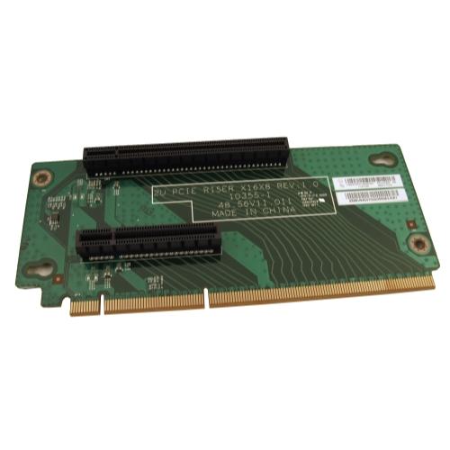 IBM 03X3832 Lenovo ThinkServer RD430 2U PCIe Dual Slot Riser Card V1.0