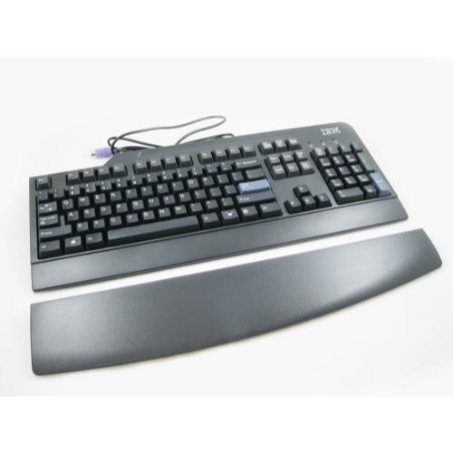 IBM 40K9430 Lenovo 104-Key PS/2 Black English Keyboard w/ Wrist Pad 89P9200 SK-8820