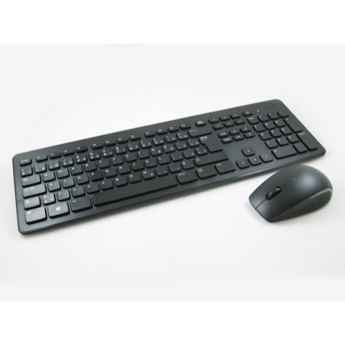 Dell N5DM2 KM632 Wireless Canadian French Keyboard w/ Mouse (NO DONGLE) LOT OF 6