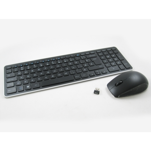 Dell 09PVD KM714 Wireless Canadian French Keyboard w/ Mouse LOT OF 7