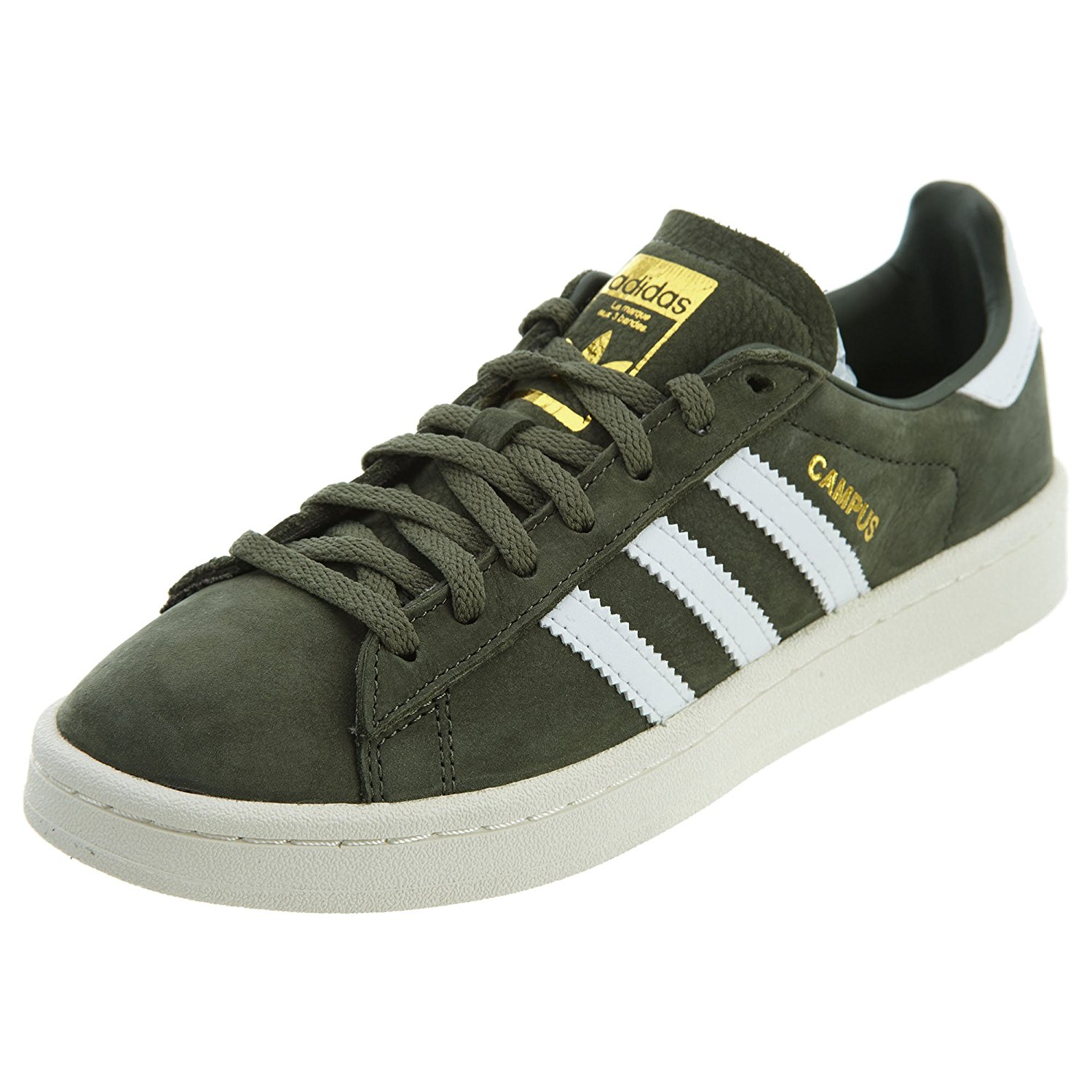 adidas Originals Womens Campus Casual Shoe Major Chalk White BY9842 ... 4744d3732