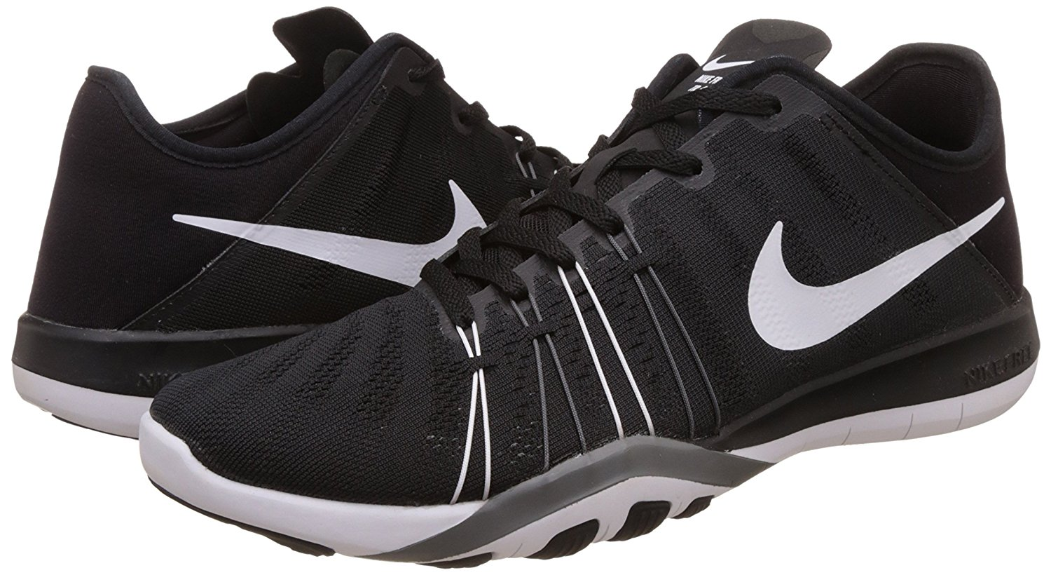 Details about Nike Womens Free Tr 6 Training Shoe Black Cool Grey White  833413-001 0b238c6d0