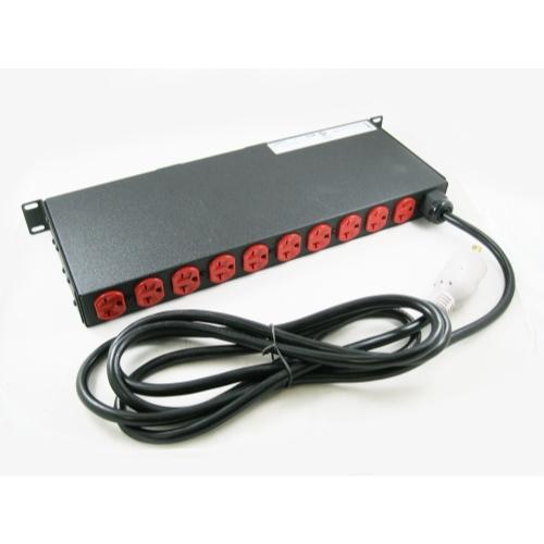 Geist VHVRN122-102D20TL6 12-Outlet Surge Protected Power Distribution Unit w/ Mounts