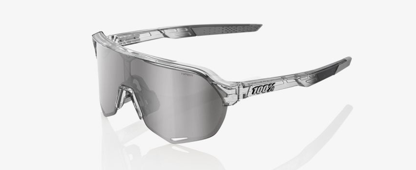 100% S3 Matte Cool Grey Smoke Lens Sport Performance Sonnenbrille