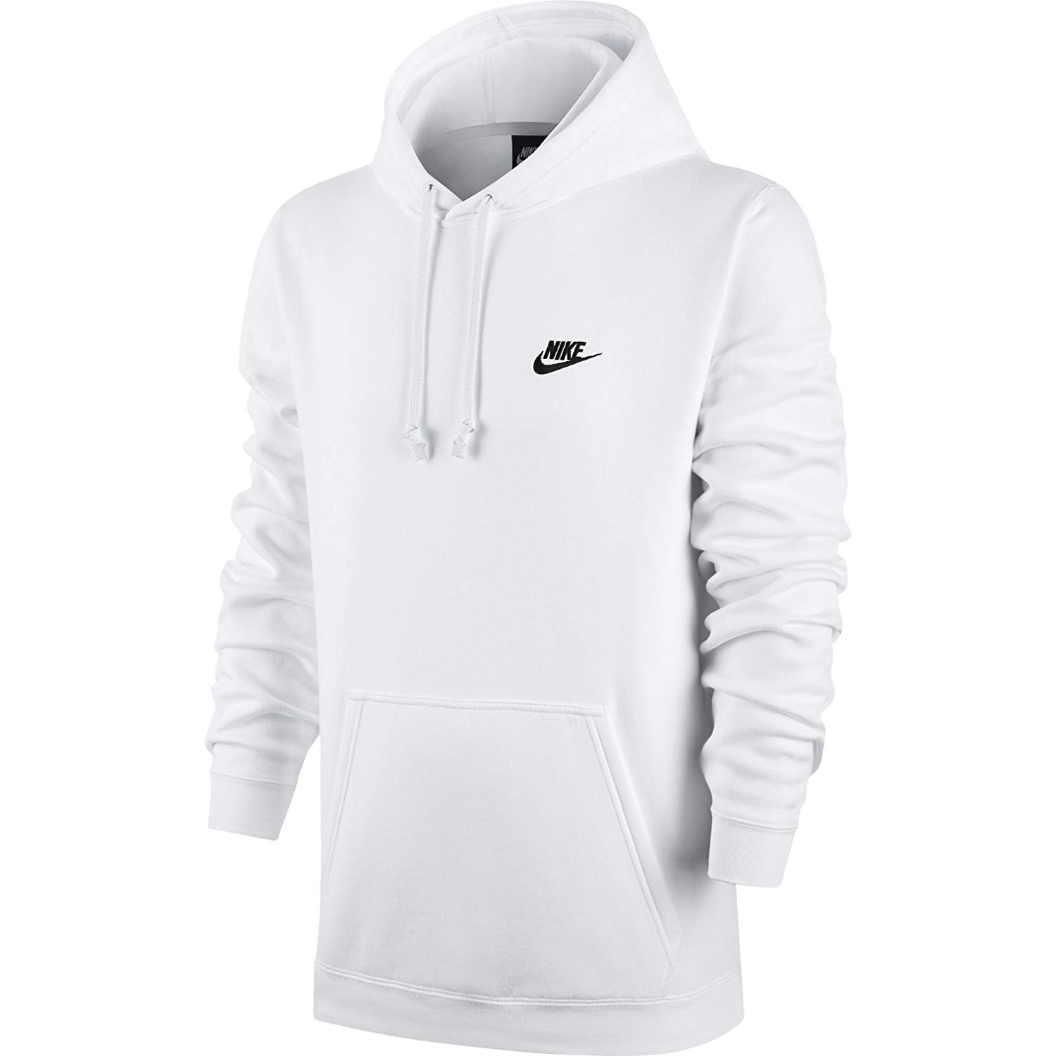 a7d955f55 Details about Nike Mens Club Fleece Pullover Hoodie 804346-100