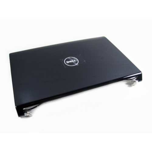 Dell W413J Studio 1555 Laptop LCD Cover (Black Swirl Design)