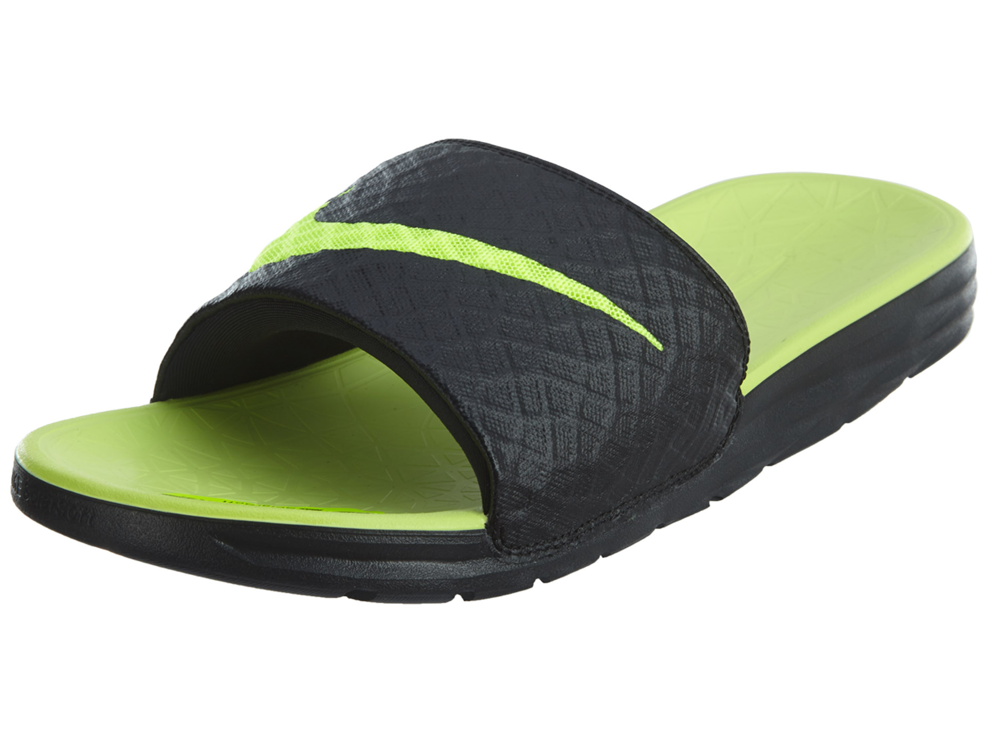 46570d847470 Nike Mens Benassi Solarsoft Slide Sandals 705474-070