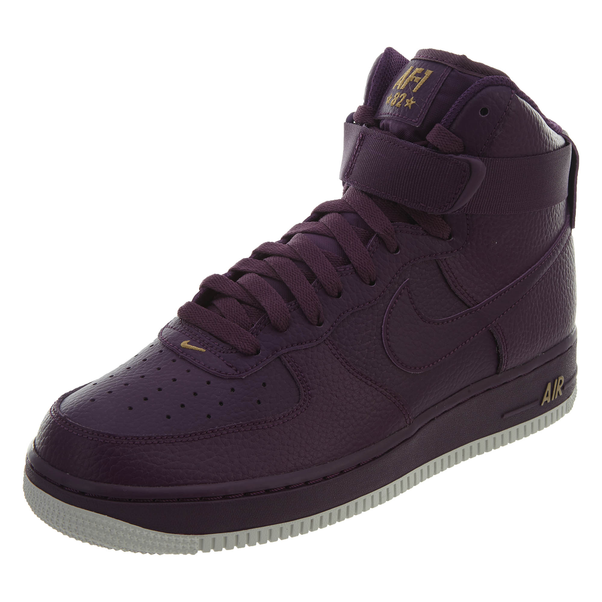 best service 52460 6e15e Nike Mens Air Force 1 High 07 Running Shoes