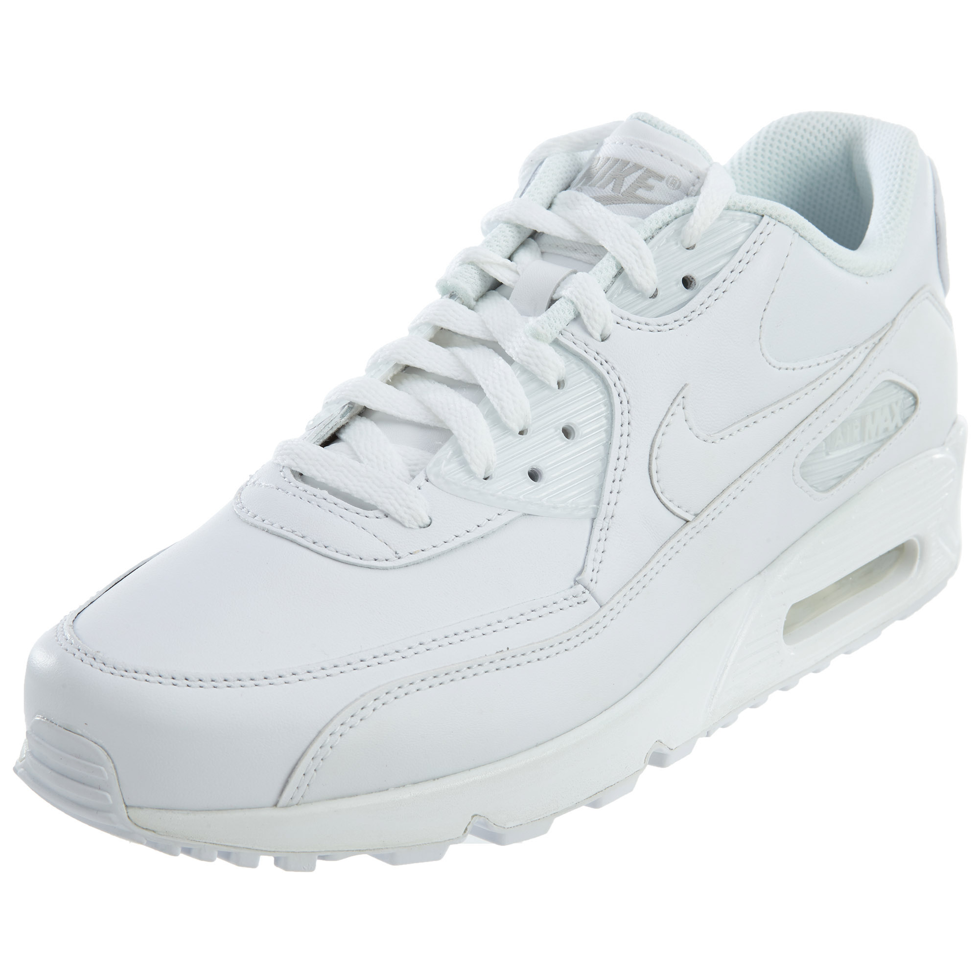 new concept e09bc b1998 Details about Nike Mens Air Max 90 Leather Running Shoes 302519-113