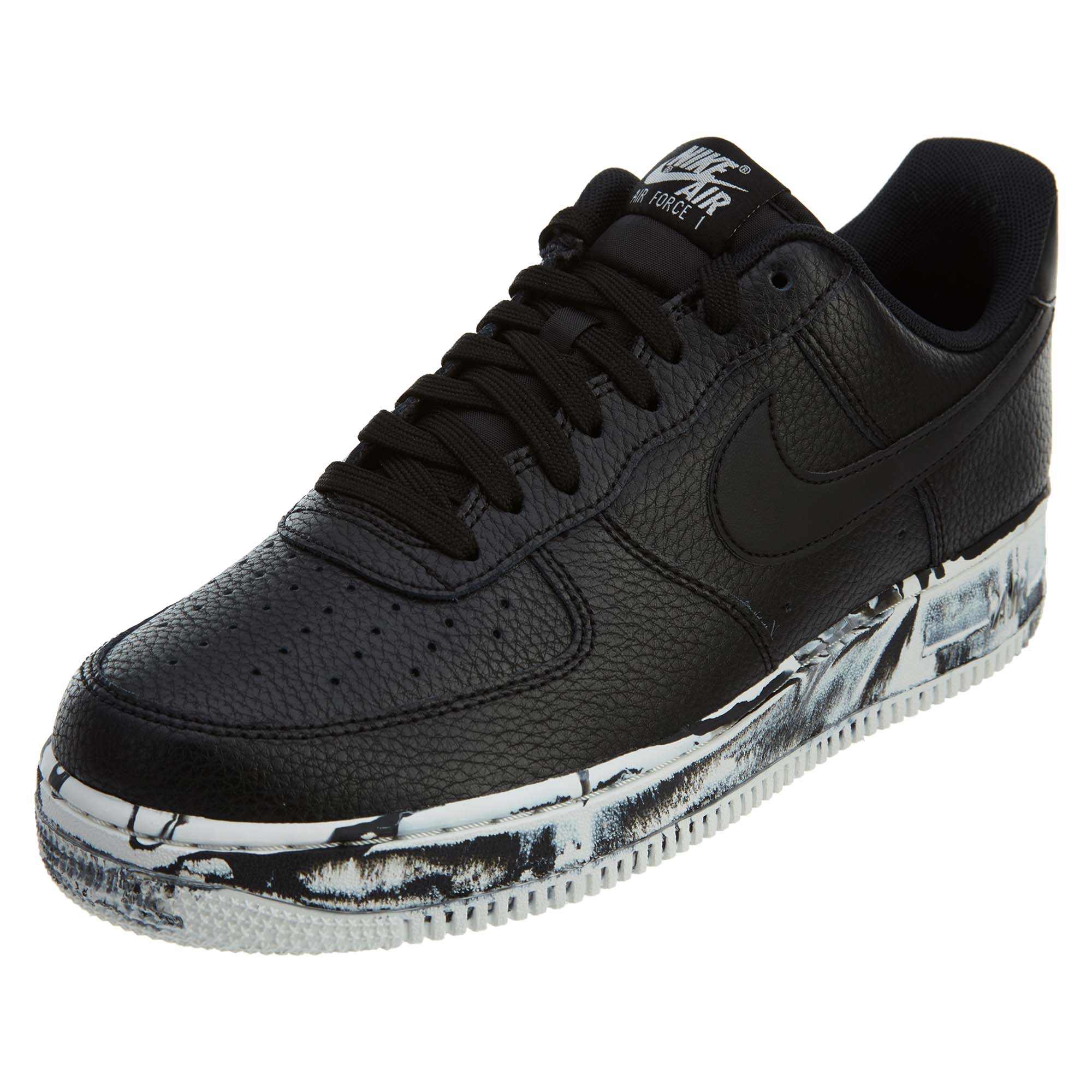 san francisco b194c 793f1 Details about Nike Mens Air Force 1 '07 Lv8 Leather Running Shoes AJ9507-001
