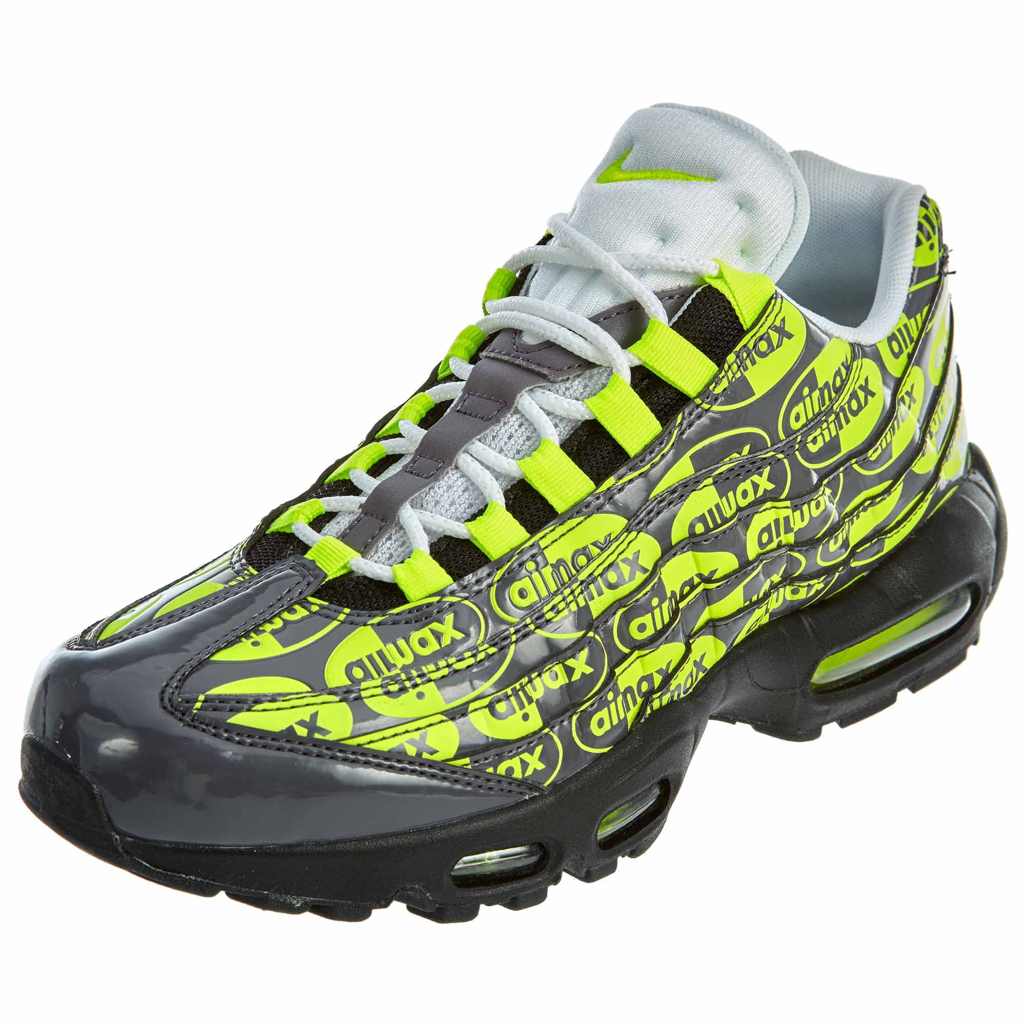 0f5b7490cfd Details about Nike Mens Air Max 95 All-Over Print Running Shoes 538416-019