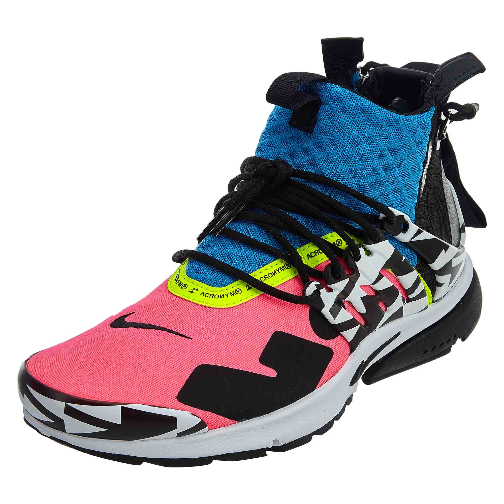 newest 4d7b5 9501f Details about Nike Mens Air Presto Mid Acronym Shoes AH7832-600