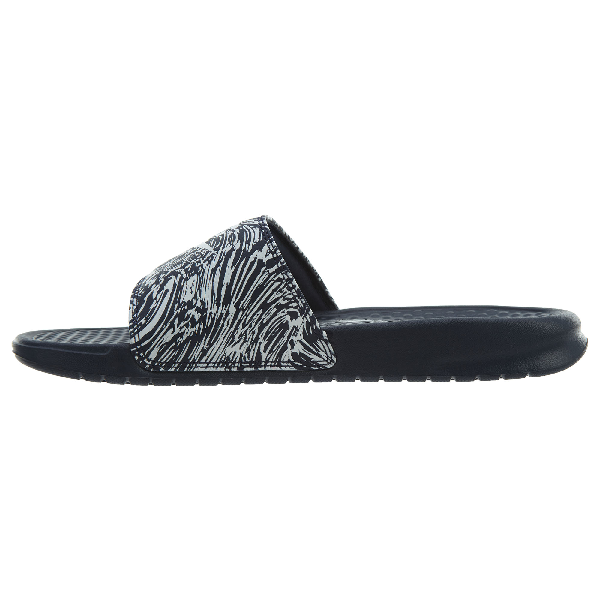 37cad6f1495e86 Nike Mens Benassi JDI Print Slide Sandals 631261-403