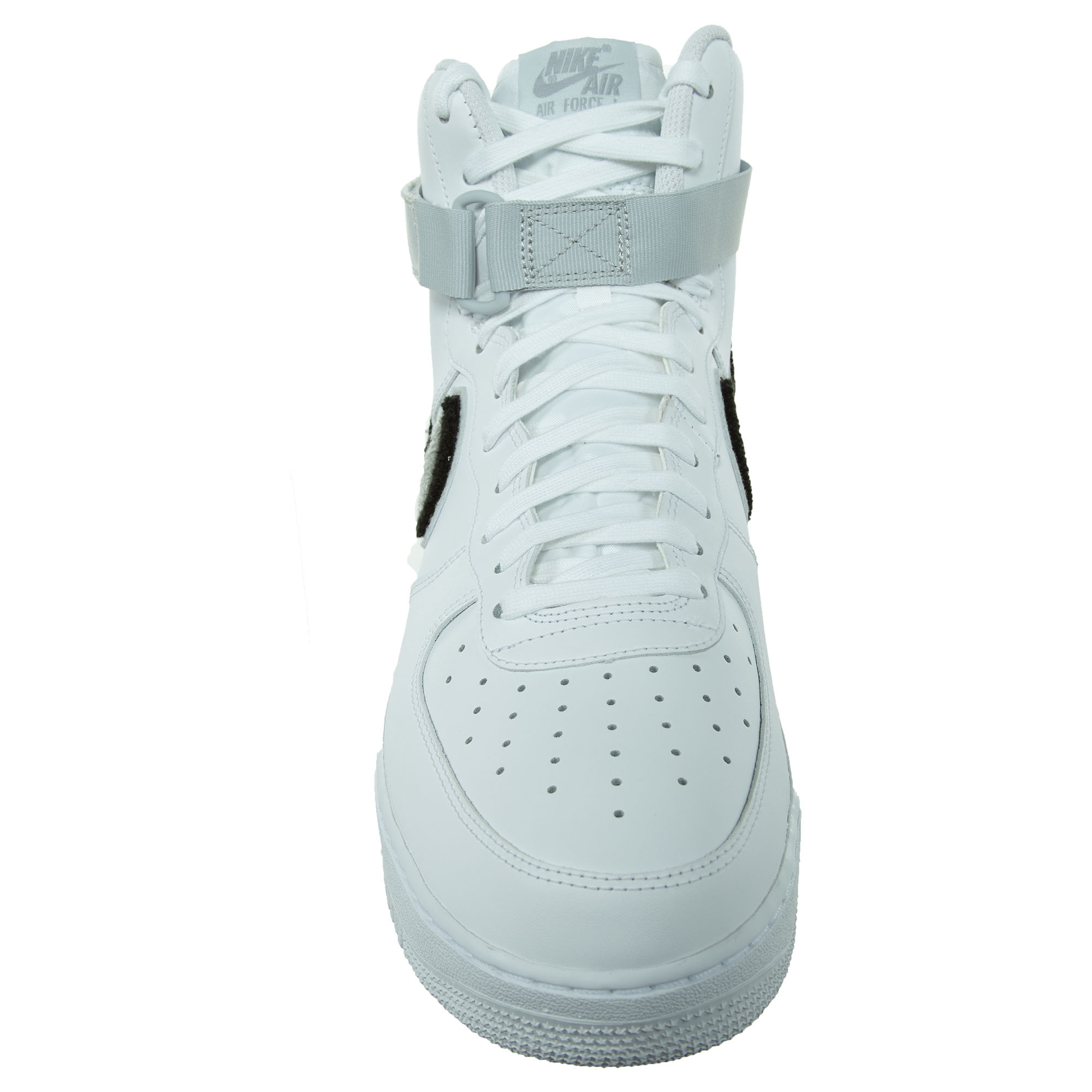 quality design 1dfdb 188db Nike Mens Air Force 1 High  07 Lv8  Chenille Swoosh  Shoes
