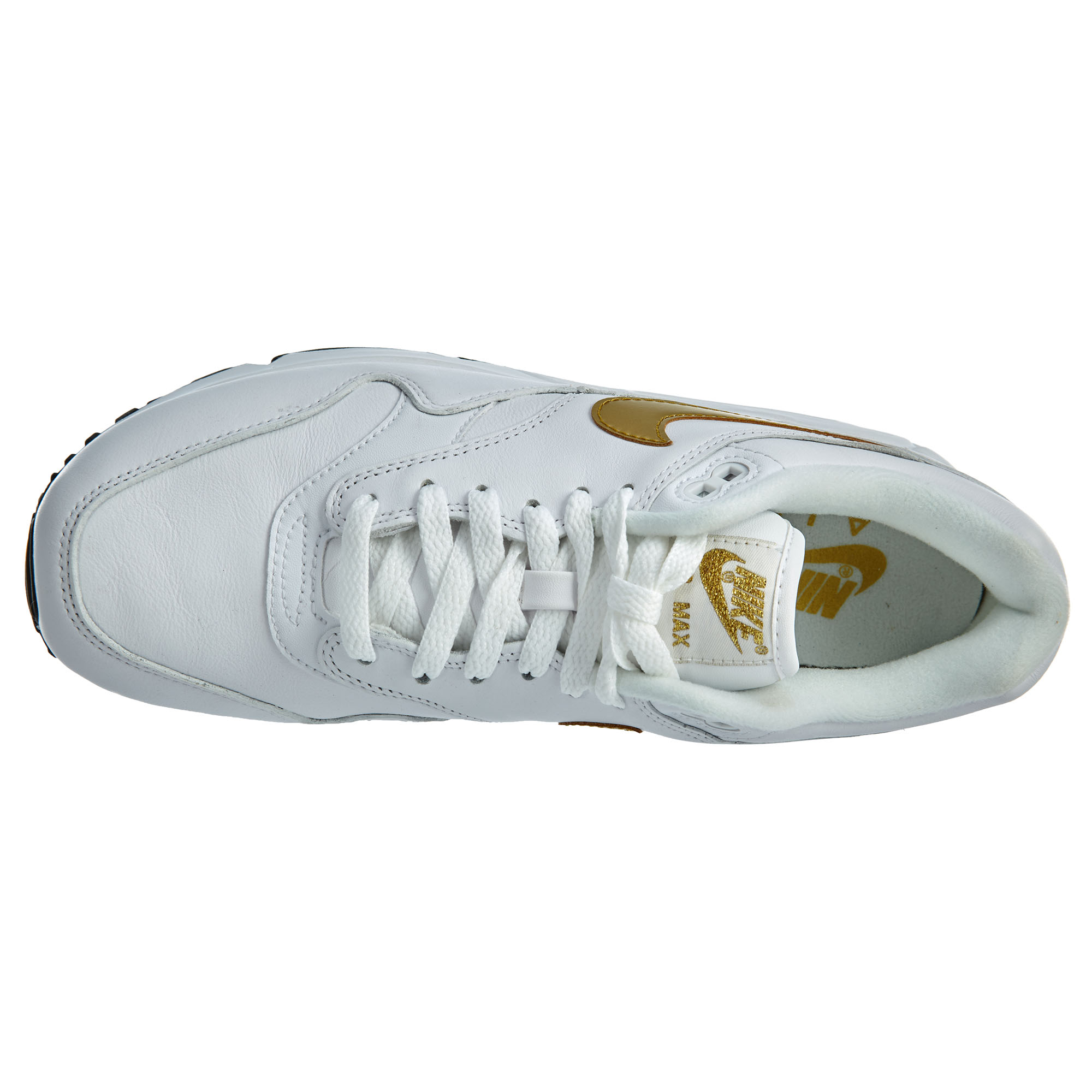 b7dde78b60 Nike Mens Air Max 90/1 Running Shoes. Item Description. Brand: Nike.  Condition: New with box. Color: White/Metallic Gold/Black