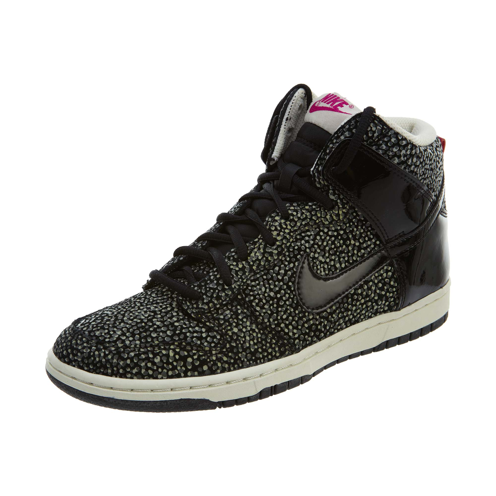 check out 62961 78e8e Details about Nike Womens Dunk Hi Skinny Print Shoes 543242-006