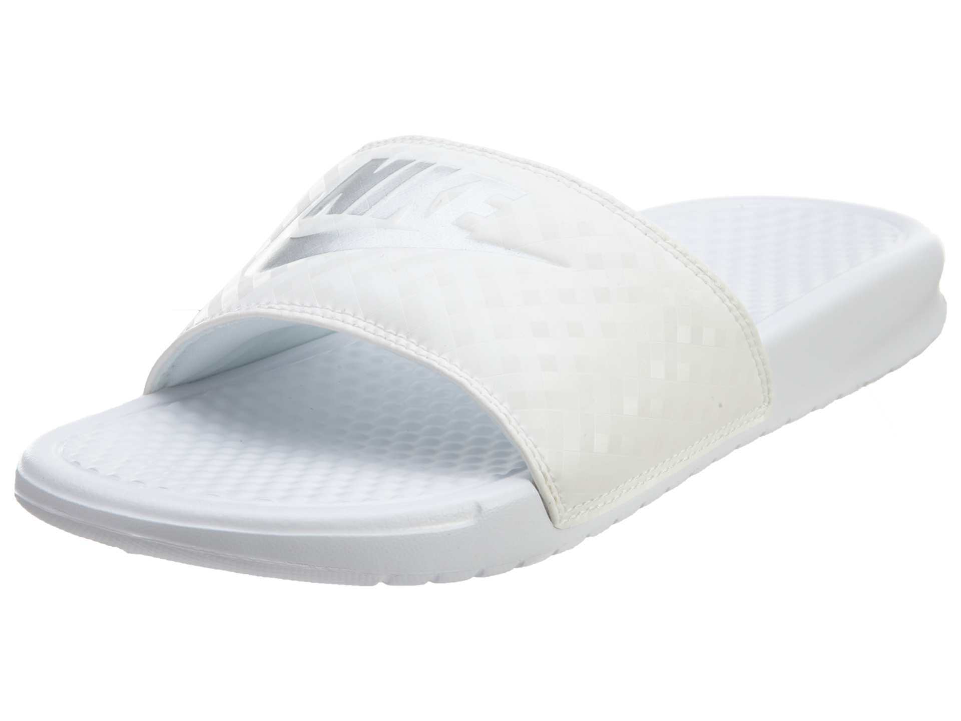 8dc439fb4205 Details about Nike Womens Benassi JDI Slide Sandals 343881-102