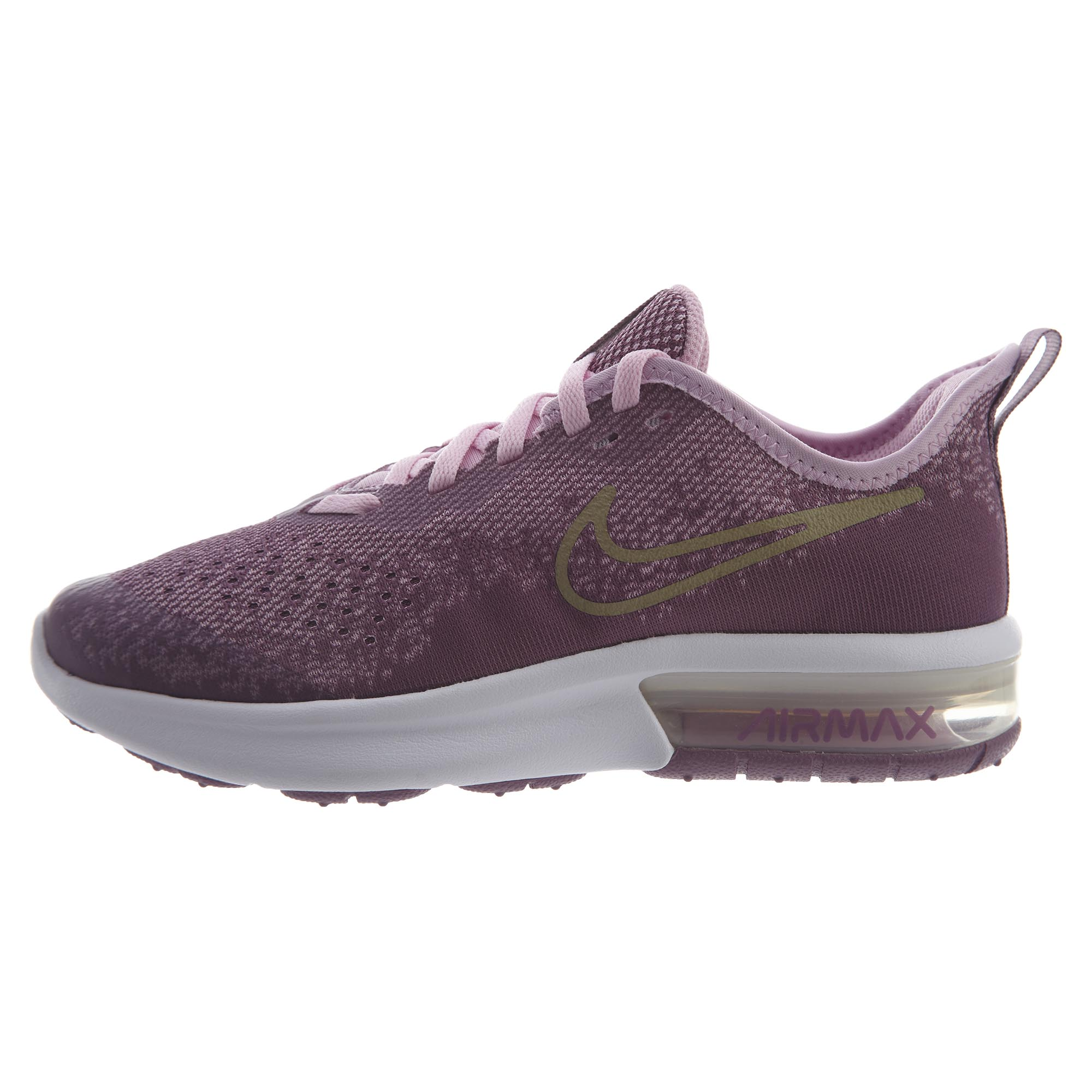 65a8cb89a56c Details about Nike Big Kids Air Max Sequent 4 Running Shoes AQ2245-501