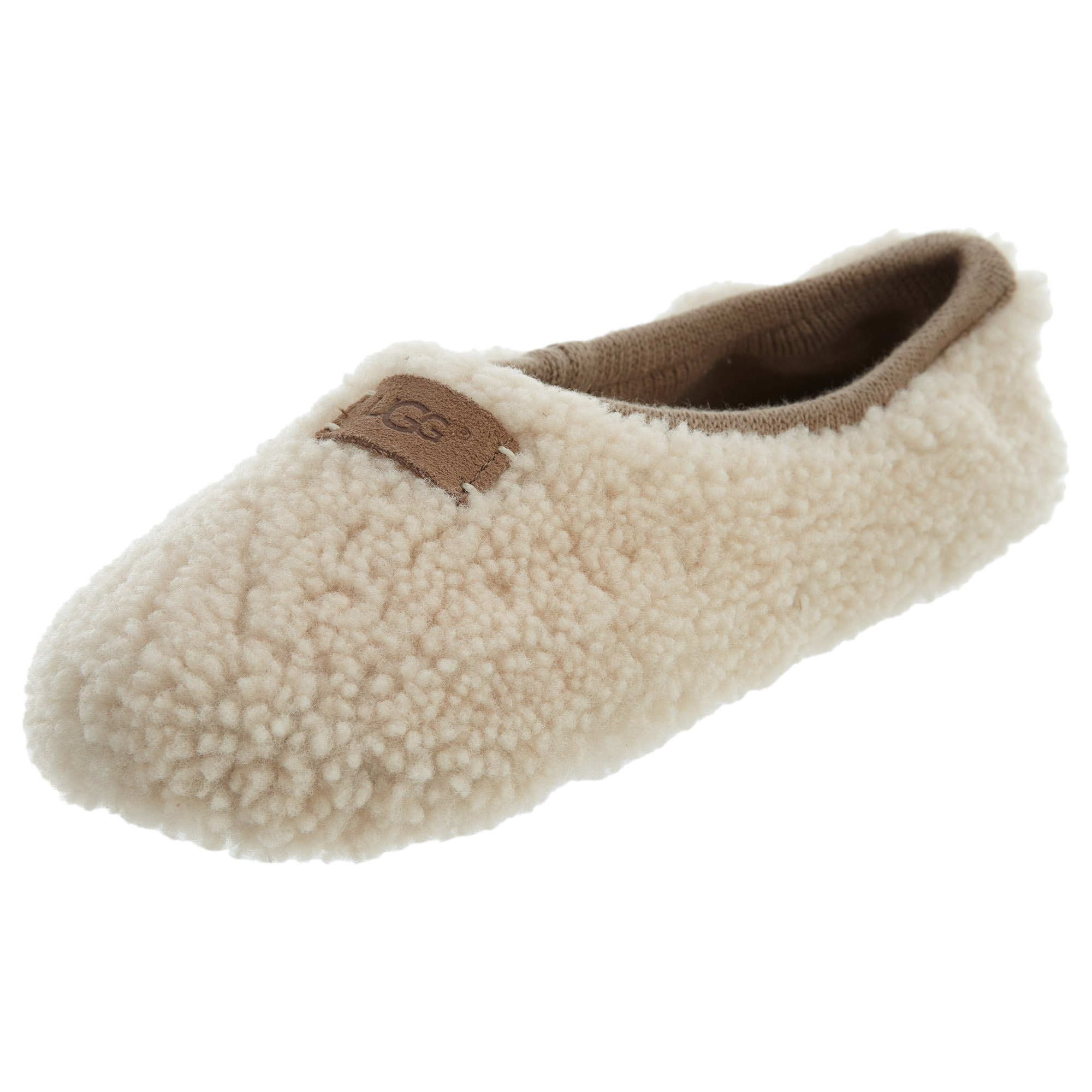 634034999ad1 UGG Womens Birche Slippers Natural 1007721