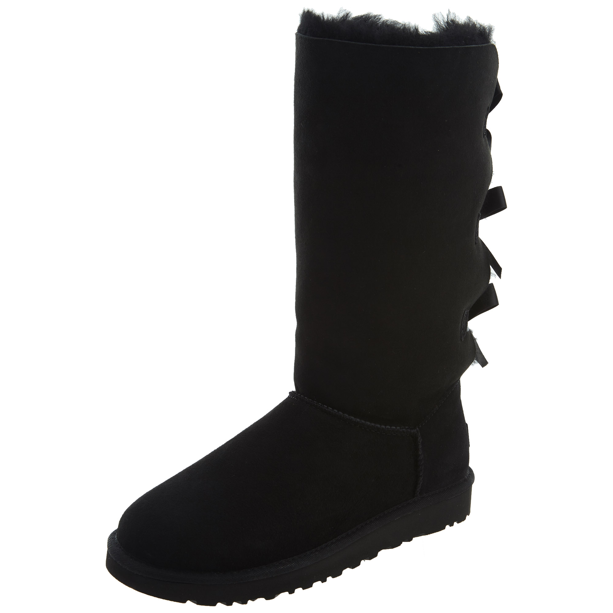 d836c18c8fe5 Details about UGG Womens Bailey Bow Tall II Boots Black 1016434