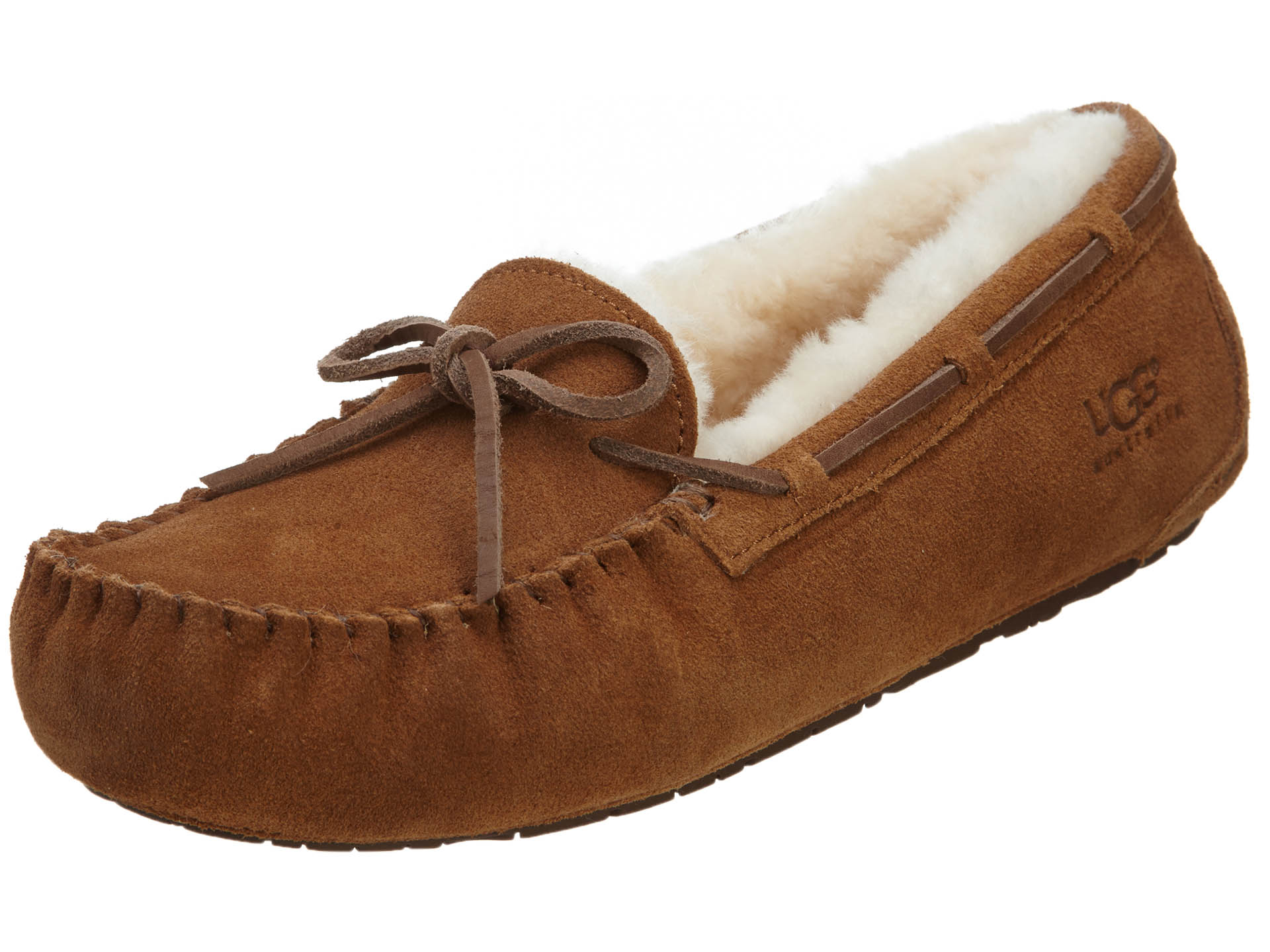e5984796c7f Details about UGG Little Kids Dakota Slippers Chestnut 5296K