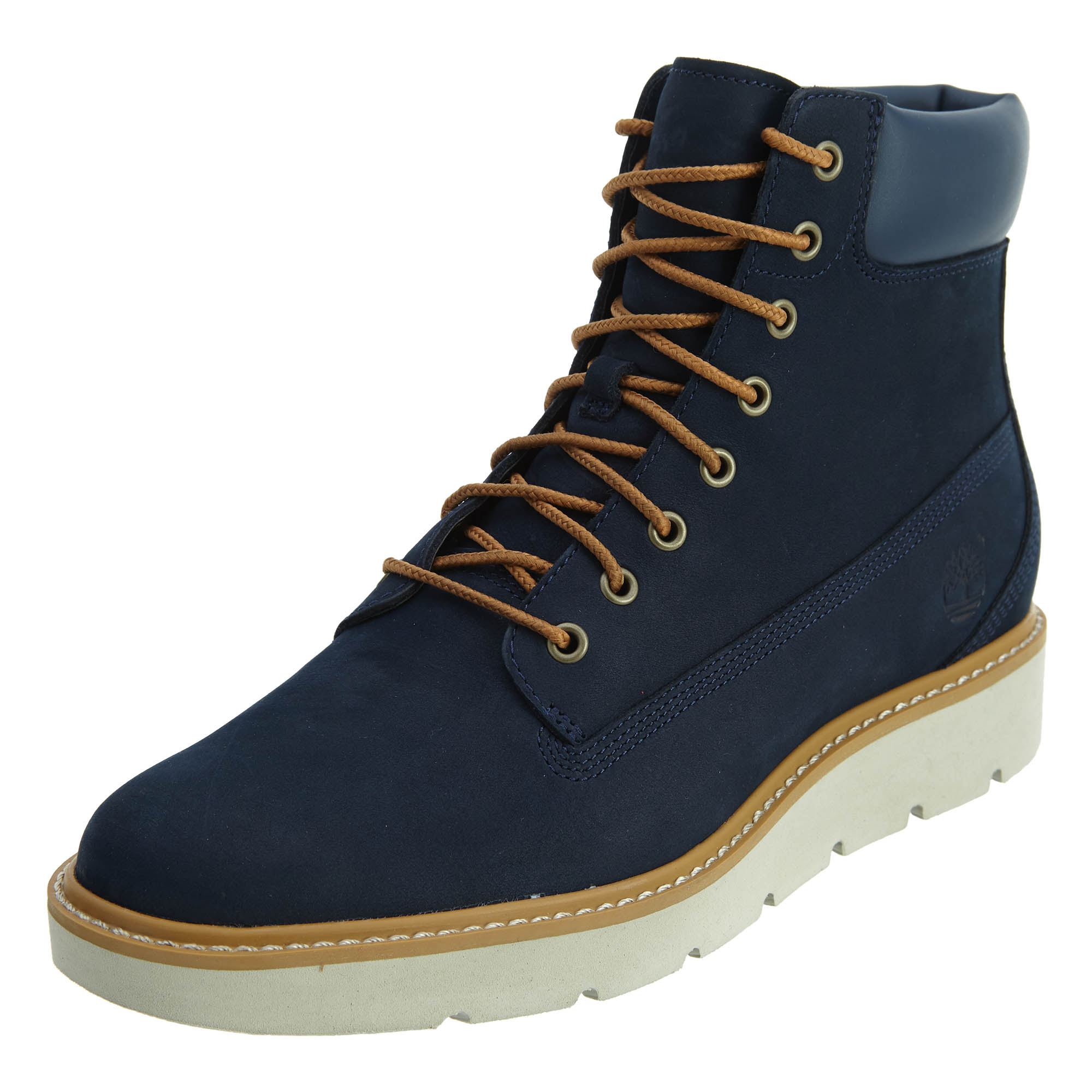 e8938470e6cb0 Details about Timberland Womens 6 Inch Lace Up Boots Navy TB0A1GXU