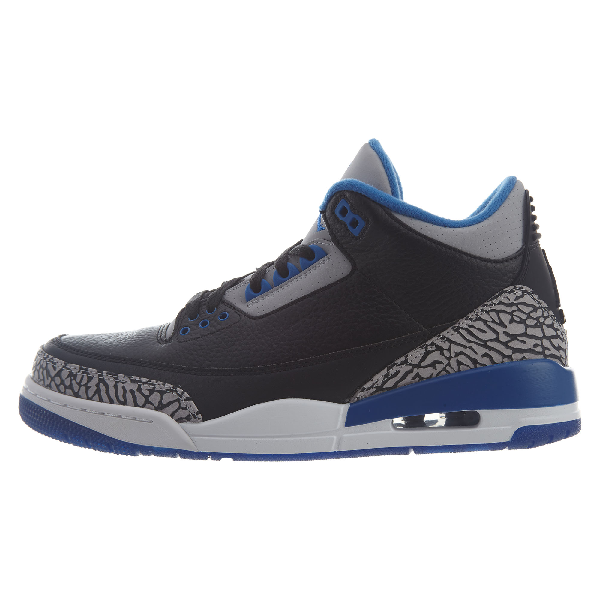 Air Jordan Mens 3 Retro Basketball Shoes 136064-007  c63a333f2